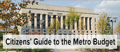 Citizens' Guide to the Metro Budget logo